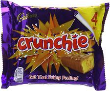 Crunchie Chocolate Bar Multipack Honeycomb Milk Chocolates Crunchies Bars 32g x4