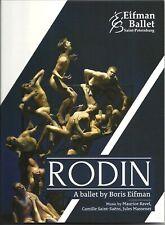 RODIN - A CONTEMPORARY BALLET BY BORIS EIFMAN - DVD - FREE SHIPPING