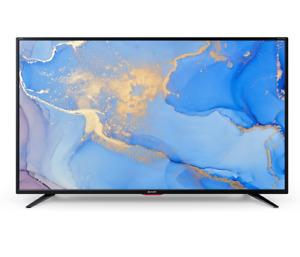 """SHARP AQUOS 43BJ5E TV COLOR 43"""" LED BLACK SMART TV 4K DVB-T2/S2 3HDMI ITALIA"""