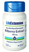 Standardized European Bilberry Extract  - Life Extension - 100 mg - 90 VC