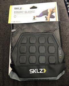 SKLZ Court Slidez Functional Core Stability Discs - Black/Gray