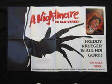 A Nightmare On Elm Street Promo Poster Marvel Comics Freddy Krueger Huge