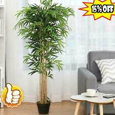 Outdoor Home Decor lastic Artificial 10 Bamboo Leaf Tree Green Plants