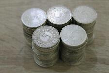 5 DM Silberadler Sammlung / Bestand - 100 Münzen - SILBER