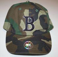 Boston Red Sox Bay State Apparel Strapback Hat Cap. Camo Camouflage