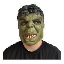 Hulk Avengers Mask Head Halloween Adult Latex Cosplay Costume Helmet Party Props