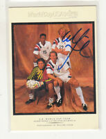 ALEXI LALAS 1994 Upper Deck World Cup Contenders #WI1 Autographed TTM Signed