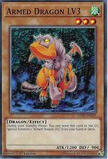 Yu-Gi-Oh: ARMED DRAGON LV3 - LED2-EN025 - Common Card - 1st Edition
