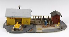 Life-Like Trackside Structures Handcar Shed Tool Shed HO Scale Building Built #1