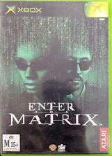 XBOX Game Enter The Matrix