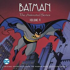 BATMAN ANIMATED TV SERIES Volume 4 LA-LA LAND 2-CD Set SOUNDTRACK Score MINT!