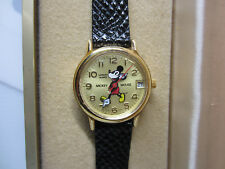 Disney 50 Years Of Time With Mickey Bradley Wrist Watch Vinge Mint