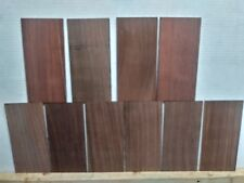 """(10) Lot Of 10, Rosewood Headplates Or Overlay - 9"""" X 4"""" X 1/8"""" Free Shipping"""