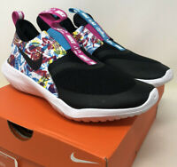 New Nike Flex Fable Lightweight Running Shoes Size 5.5Y Girls Kids Youth Slip On