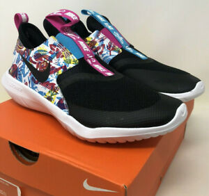 New Nike Flex Fable Lightweight Running Shoes 6Y Girls Youth Slip On - NO BOX