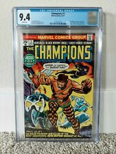 Champions #1 CGC 9.4 WHITE Pages (1975)