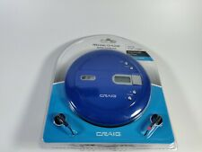 Craig Personal CD Player w/ Earbuds Model CD2808 New