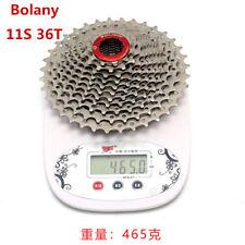 BOLANY Premium MTB 11 Speed 11-36T Road Bike Freewheel Cassette For SHIMANO SRAM