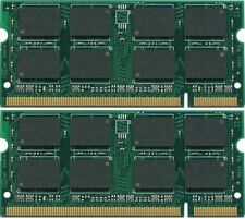 NEW! 4GB (2X2GB) PC2-5300 667MHz LAPTOP MEMORY for Dell Latitude D620