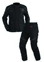 Textilkombi Jopa Omega V2 Suit Jacke und Hose Schwarz Gr. 5XL