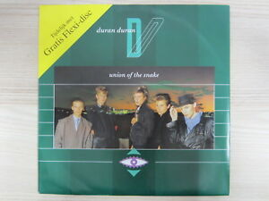 Single / Duran Duran – Union Of The Snake / Single Sided, Picture Disc, Promo /