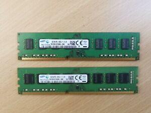 Samsung 8GB DDR3-12800U 1600Mhz Ram / Memory For PC & Desktop