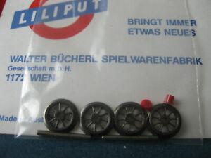 LILIPUT # 301722 Speichenradsatz 11,3 mm H0 Dampflok
