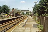 PHOTO  SURREY  COULSDON SOUTH RAILWAY STATION 1983