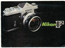 Nikon F brochure in inglese 1965 ca in inglese  CV20