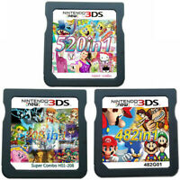 208/482/520 in 1 R4 Video Games Cartridge Cards For DS NDS 2DS 3DS NDSI NDSL