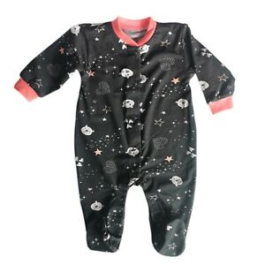 Baby Infant Girls Sleepsuit Playsuit Baby grow 100% Cotton from 0-3/3-6/9-12 m