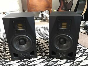 Pair of Adam A5X Active Studio Monitors, USED perfect working condition