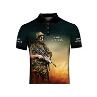 ARMY VETERAN BRITISH ARMY PATRIOT POLO SHIRT NEW PRODUCT