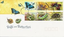 2003 Australia - Bugs and Butterflies Fdi Fdc