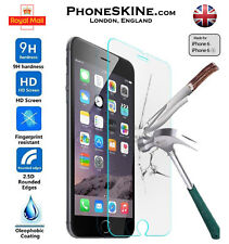 100% Genuine Tempered Glass Screen protector protection Apple iPhone 6s & 6  9H