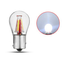 1x Universal DC 12-24V 1156 BAU15S PY21W White 4 COB LED Lamp Bulb Nice Qulity