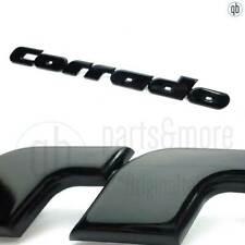 Original VW Schriftzug Emblem Corrado hinten schwarz  535853687 lackierbar - NEU