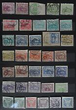 Tschechoslowakei / Tschechien interesantes Lot 36 Briefmarken (gestempelt)