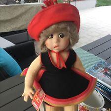 Adorable Cloth Felt Lenci Doll 19 1/2� All Original Excellent-1980's With