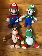 Nintendo Super Mario Brothers Plush Toys Lot Of 4