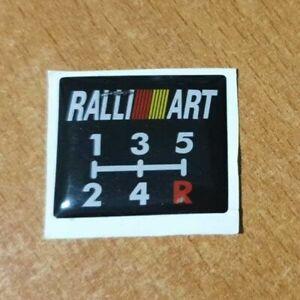 Mitsubishi Ralliart Gear Shift Pattern (5 Speed)