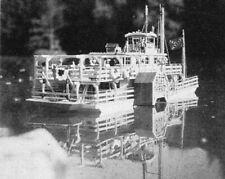 Bauplan Boat West Modellbauplan Schiffsmodell Binnenschiff