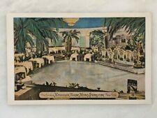 HAWAIIAN ROOM Restaurant HOTEL LEXINGTON New York Postcard VINTAGE