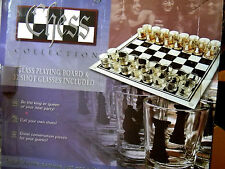 Chess Drinking Game - 32 Glass Pieces