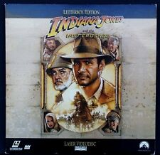 Indiana Jones and the Last Crusade WS DSS LaserDisc Adventure