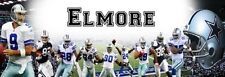 """Dallas Cowboys Poster Banner 30"""" x 8.5"""" Personalized Custom Name Printing"""