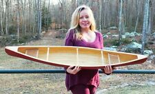 "54"" Canoe model kit. Easy to build, quality wood strips & parts (standard)"