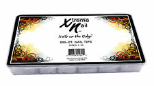 Xtreme Nail Tips Masterpack-FRENCH WHITE - 500pcs