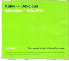 (CY158) Kulay, Delicious - 1998 DJ CD