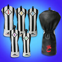 Craftsman Golf Wood Head Covers for Driver Fairway Hybrid Rescue UT Juventus NEW